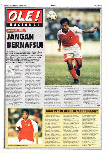 INDONESIA - LAOS JANGAN BERNAFSU
