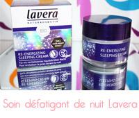 Re-Energizing Sleeping Cream de Lavera