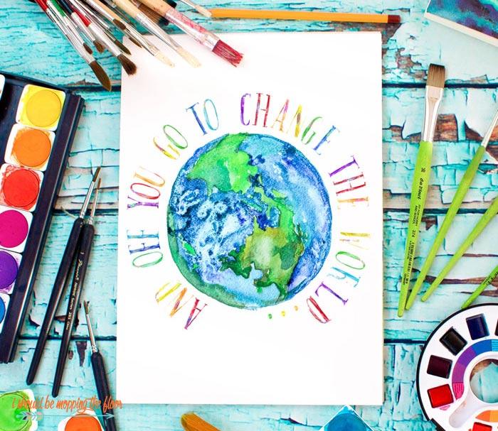 Change The World Printables