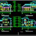 مشروع مسكن كبير اوتوكاد dwg