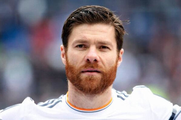Xabi Alonso No Beard Men's Corne...