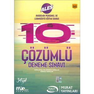 Murat ALES Çözümlü Deneme Soruları 2065