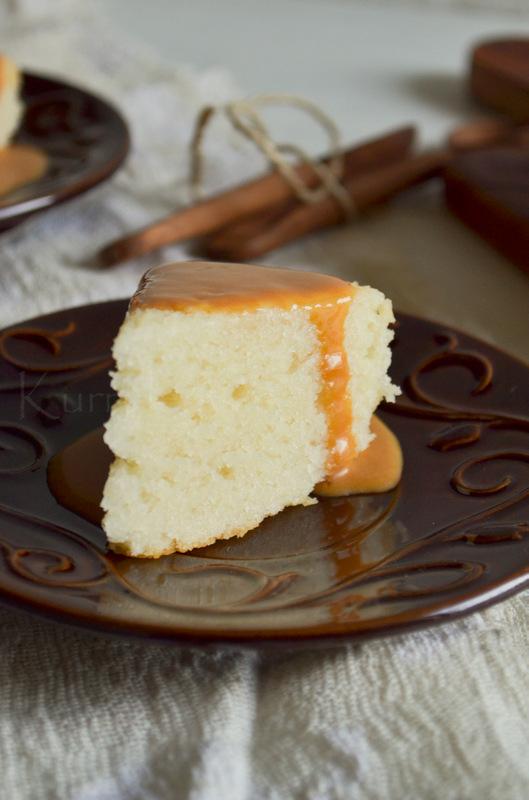 Eggless Vanilla Cake Kurryleaves