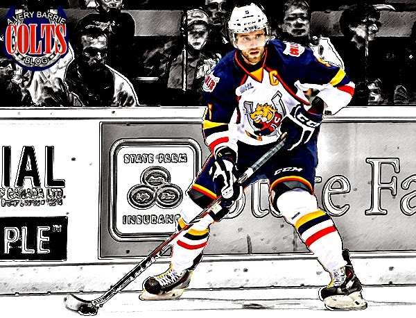 5 days until the Barrie Colts Home Opener! (Aaron Ekblad) #OHL