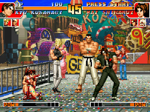 king of fighter 2002 pc gratuit sur clubic