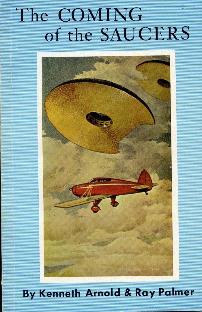 Resultado de imagen para the coming of the saucers book