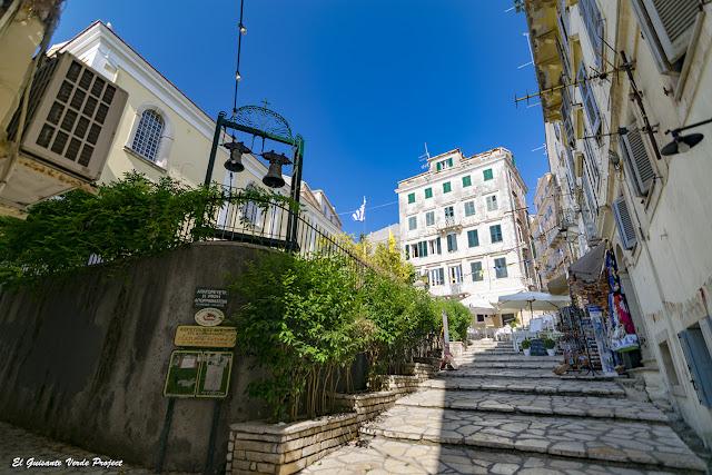 Restaurantes de la Ciudad Antigua - Corfu por El Guisante Verde Project