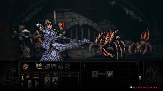 Darkest Dungeon Gameplay Screenshot 1