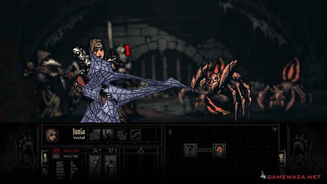 Darkest Dungeon Gameplay Screenshot 1