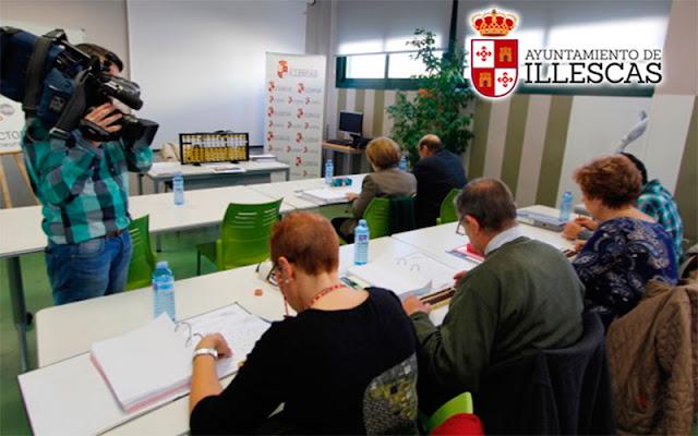 TVE se interesa por el programa BrainFactory + 50 de Illescas. IMAGEN COMUNICACION ILLESCAS