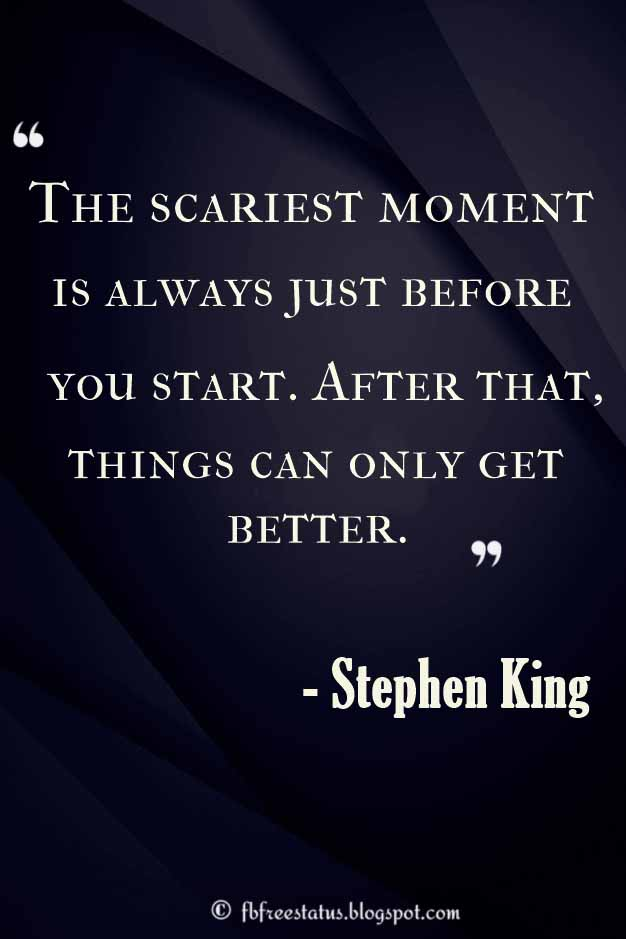 Stephen King Quotes On Love Amazing 48 Best Stephen King Quotes Tuanson And Friends