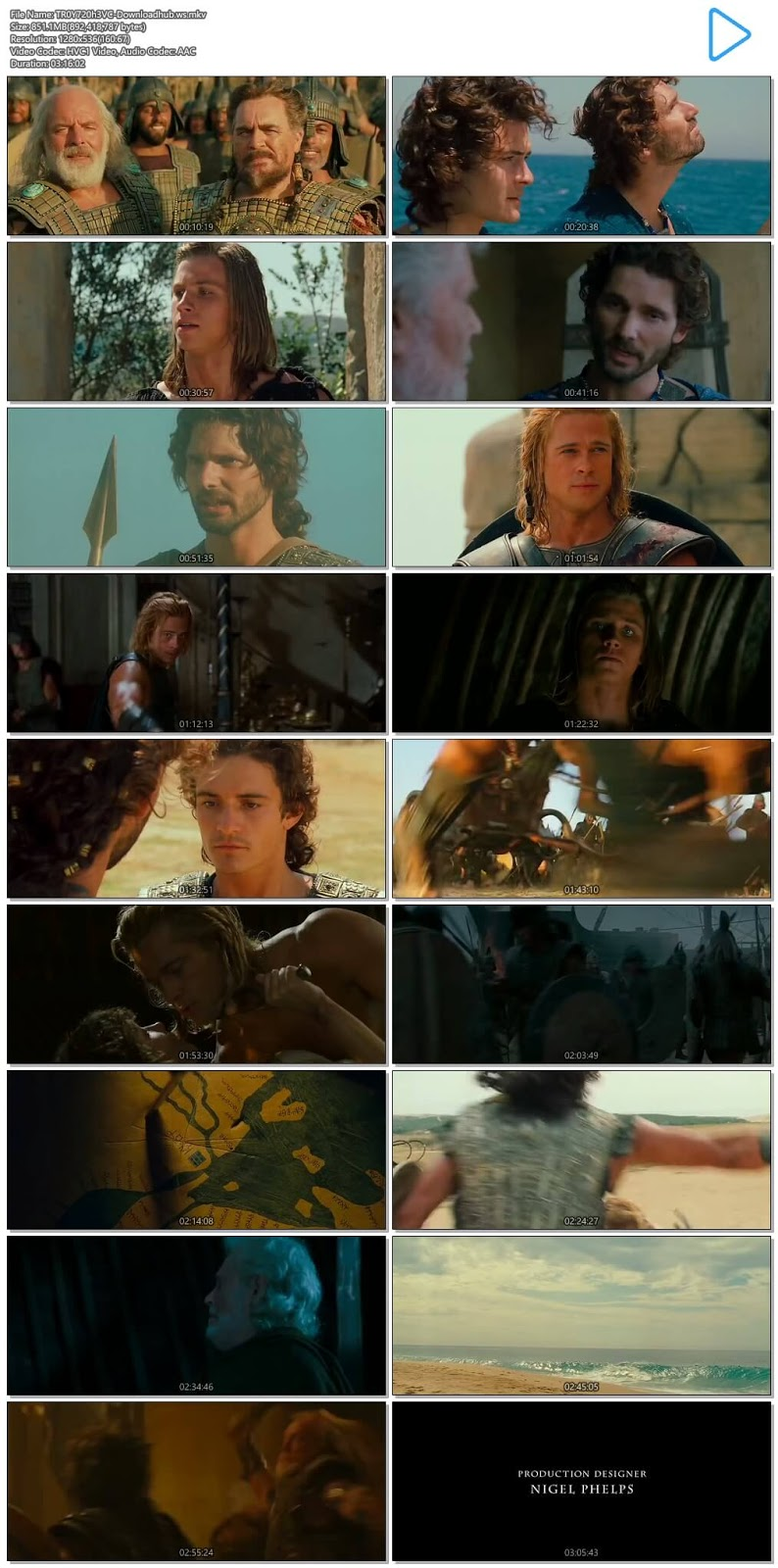 Troy 2004 Hindi Dual Audio 720p HEVC BluRay Free
