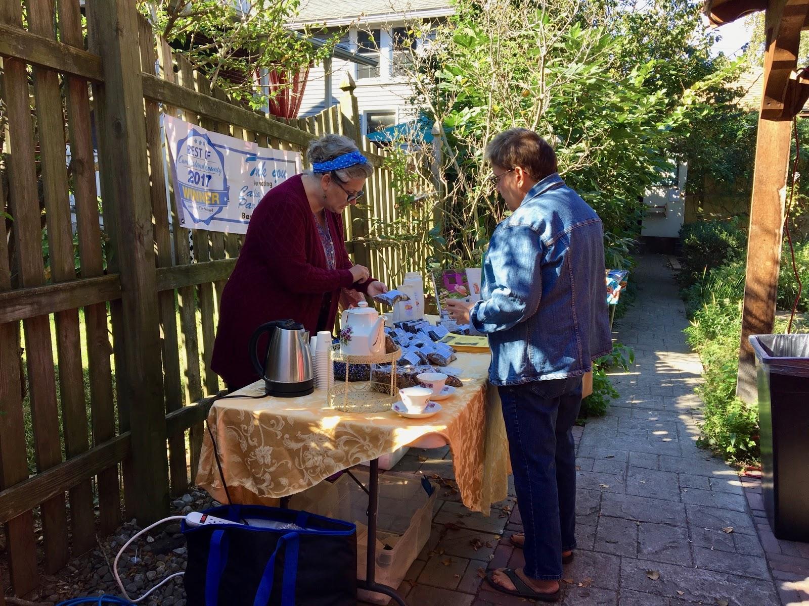 pa tea festival in the garden internet marketing dan bisnis online