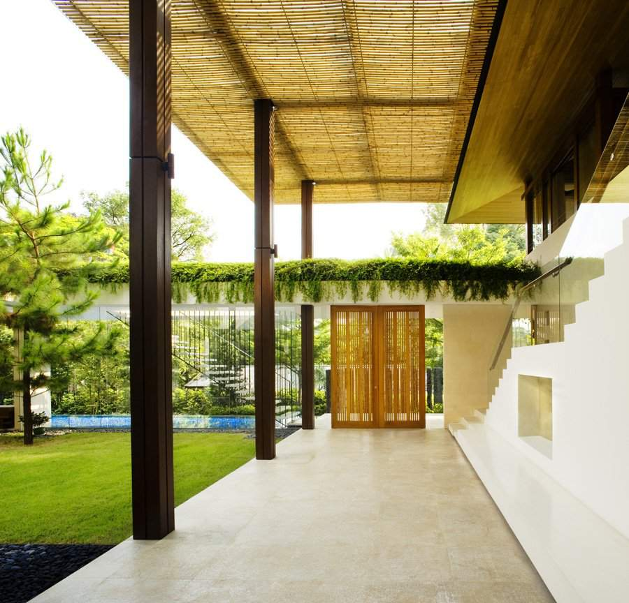 Home Decor Contemporary: Contemporary Tropical House, Tanga House