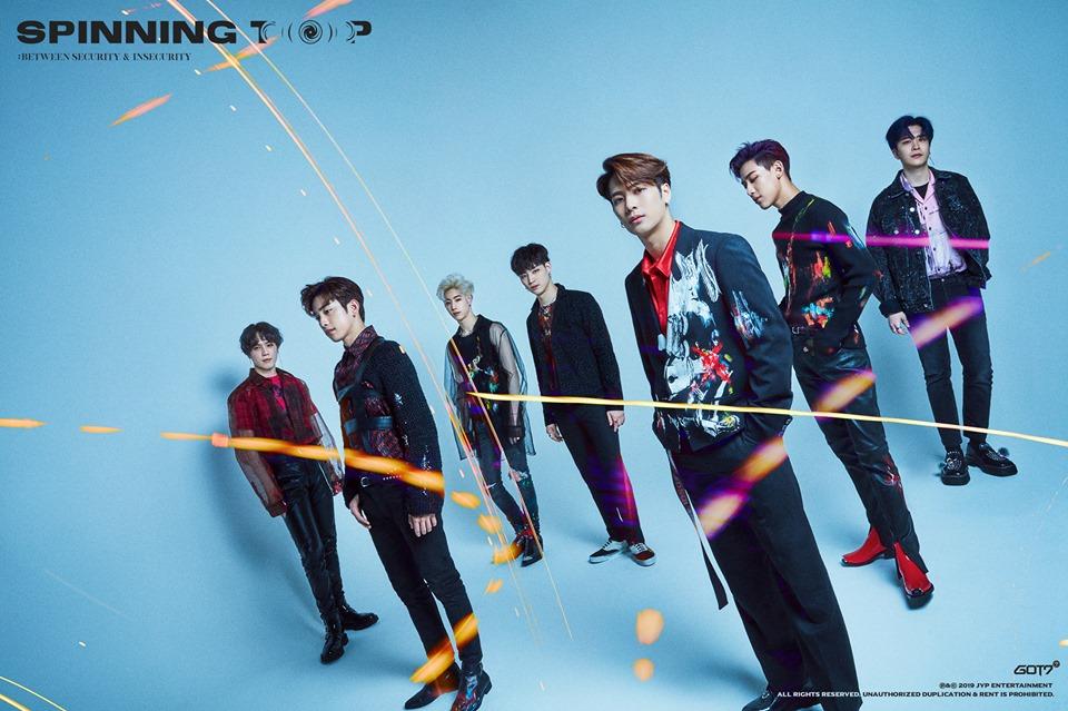 GOT7 Korean Boy Group