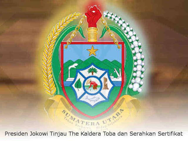 Jokowi Tinjau The Kaldera Toba dan Serahkan Sertifikat