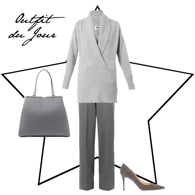 Outfit du Jour Grey