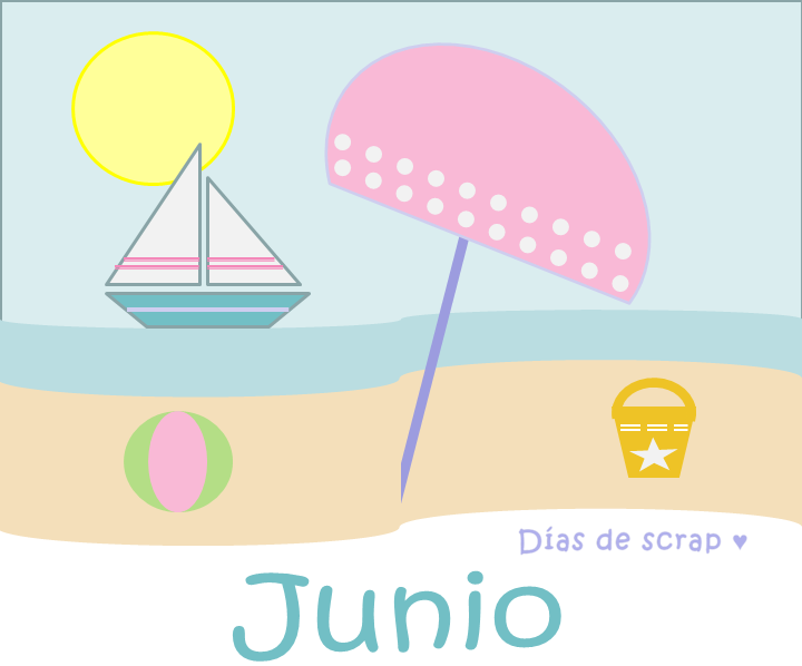freebie imprimible gratis calendario mes de junio