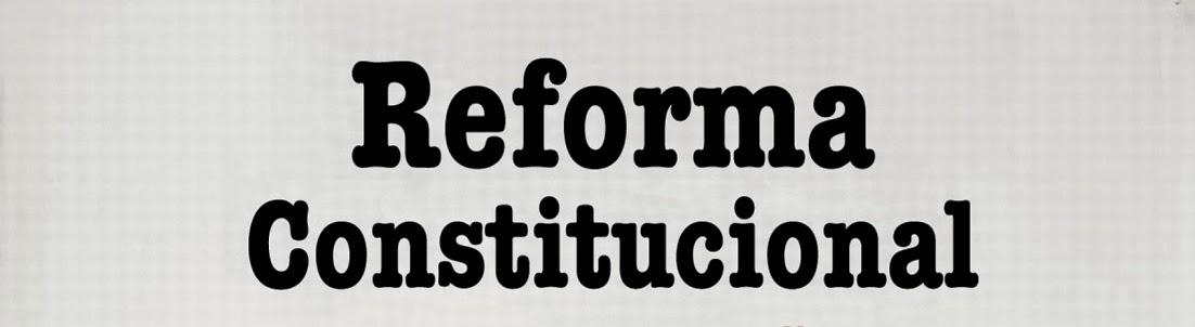 Reforma de la Constitucion
