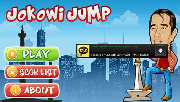 Game Android Jokowi Jump