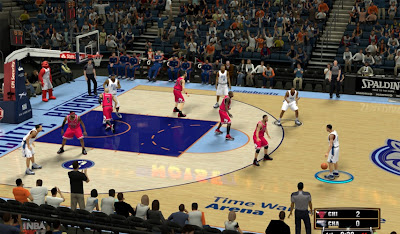 NBA 2K13 Charlotte Bobcats Court Fix Patch