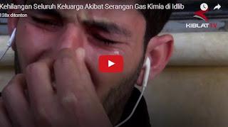 Kehilangan Seluruh Keluarga Akibat Serangan Gas Kimia di Idlib