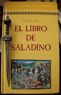 Portada del libro El libro de Saladino, de Tariq Ali