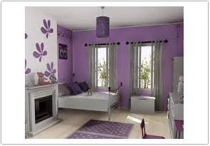 warna cat ruang tamu menurut feng shui ungu