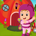G4K Cute Butterfly Girl Rescue Game