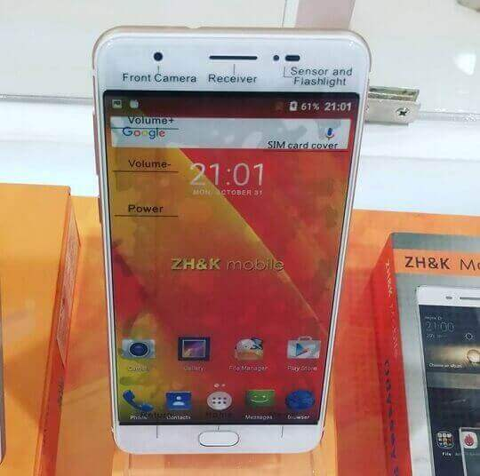 ZH&K Mobile J9 Spotted; Another OPPO F1s Look-Alike/