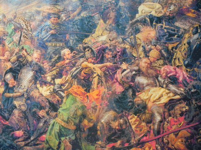 wojna, Krzyżacy, Grunwald, obraz