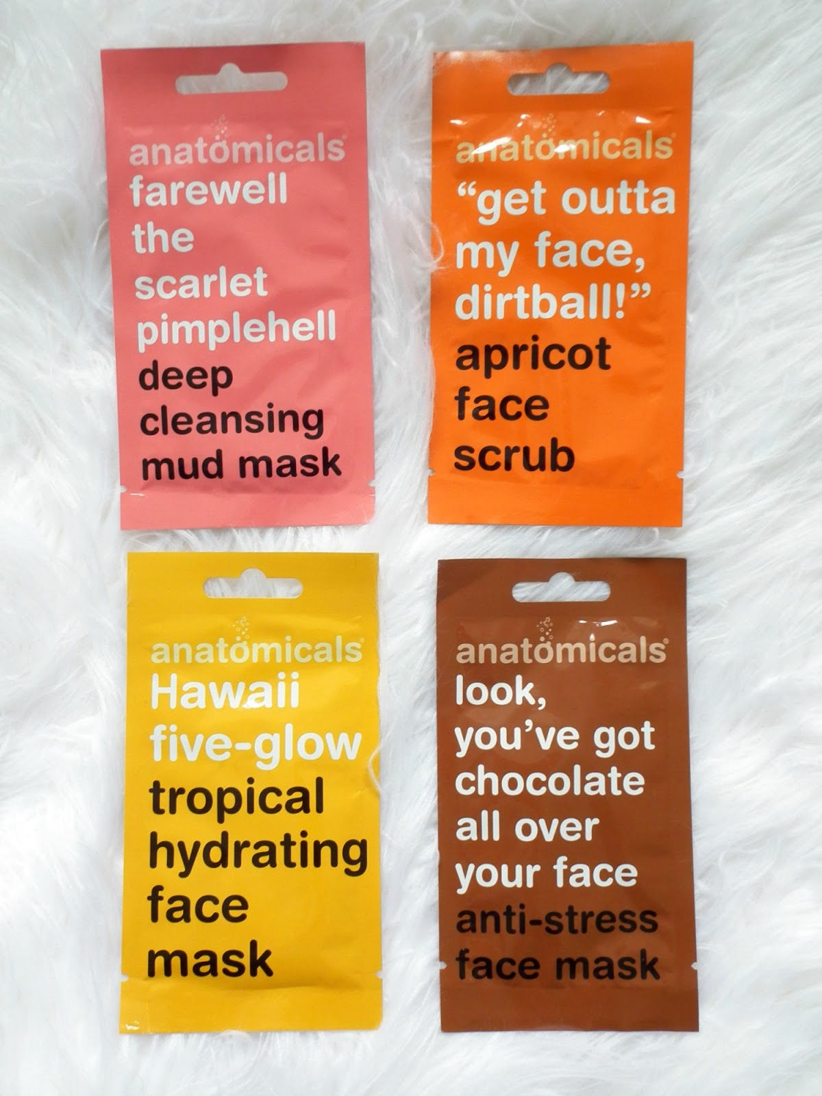 Skincare On Trial - Anatomicals  Face Mask Scrub