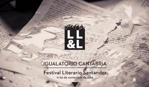 Logotipo del festival literario Lluvias y letras