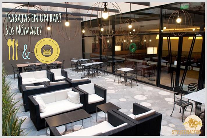 Espacios de trabajo - DECO - Tipos de lugares de trabajo - Starbucks para trabajar desde un bar con onda - sucursal Cabildo 2020 - foto by Maleva - post Stylistinaction