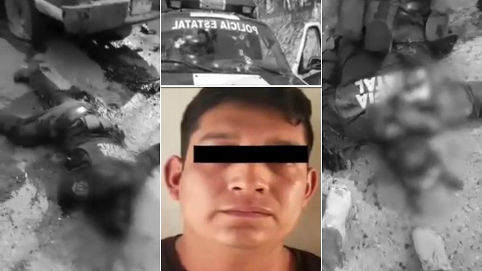 """""""El Chivo Loco"""", el sanguinario líder de la """"Guardia Guerrerense"""" ligada al CJNG, y causante de la masacre contra 6 policías en Guerrero"""