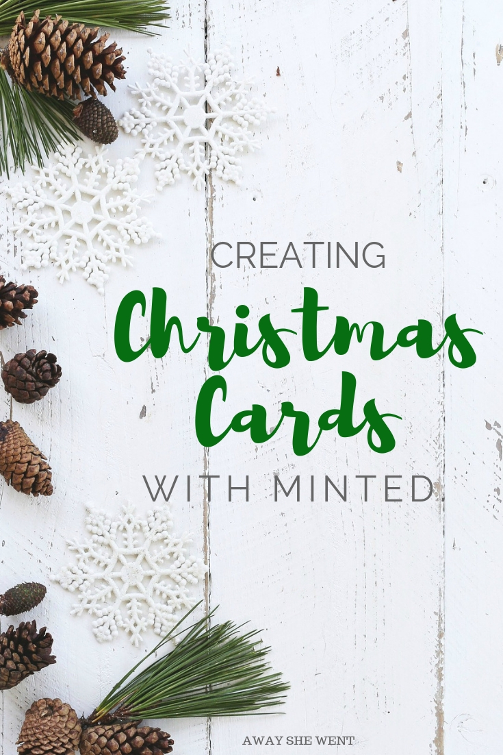 Christmas Cards with Minted - Away She Went