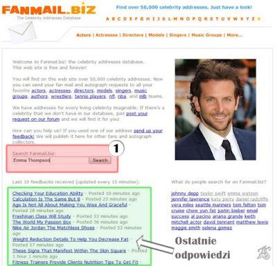 Autograf zagranicznej gwiazdy Co pisać w liście, Gdzie znaleźć adres, Poradnik, porady, krok po kroku, fanmail.biz