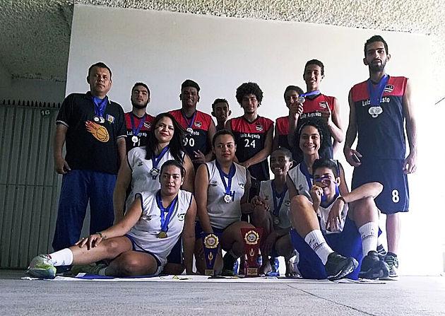 Com apoio da Prefeitura, atletas delmirenses participam dos Jogos Abertos de Basquetebol