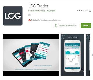 Ulasan Lengkap Tentang Aplikasi Broker LCG Trader di Android
