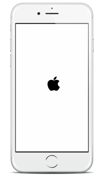iphone 6 muncul logo apple