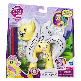 MLP Design-a-Pony Fluttershy Brushable Pony