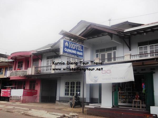 penginapan hotel gunung mas dieng