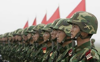 chinese stocks and armies