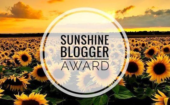 Frog on Sunshine Blogger Awards