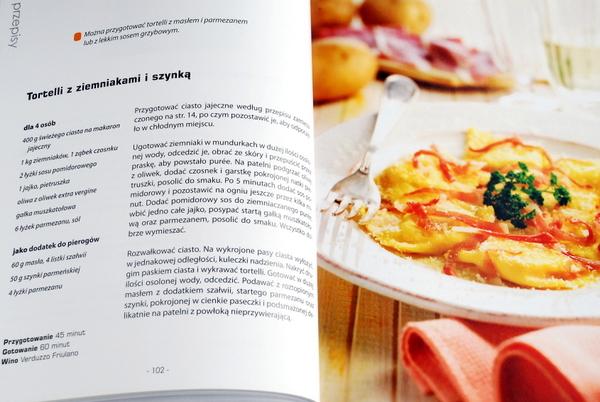 Przepis na tortelli z ziemniakami i szynką