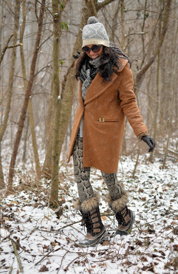 Outfit with Sorel boots