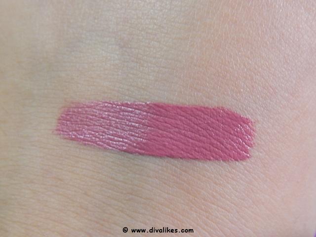 Chambor Extreme Wear Transferproof Liquid Lipstick 402 Swatch