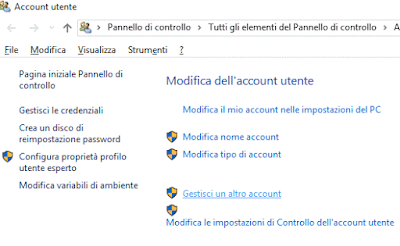 Come eliminare un utente su Windows 10