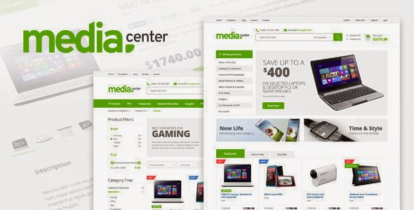 MediaCenter Electronics Store WooCommerce Theme