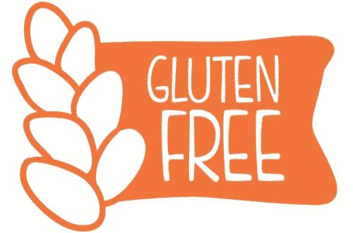 etiqueta gluten free